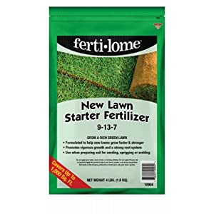 Voluntary Purchasing Group Fertilome 10904 New Lawn Starter Fertilizer