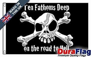 duraflag® diez fathoms profundo profesional calidad bandera (puerta y Cambiadas)