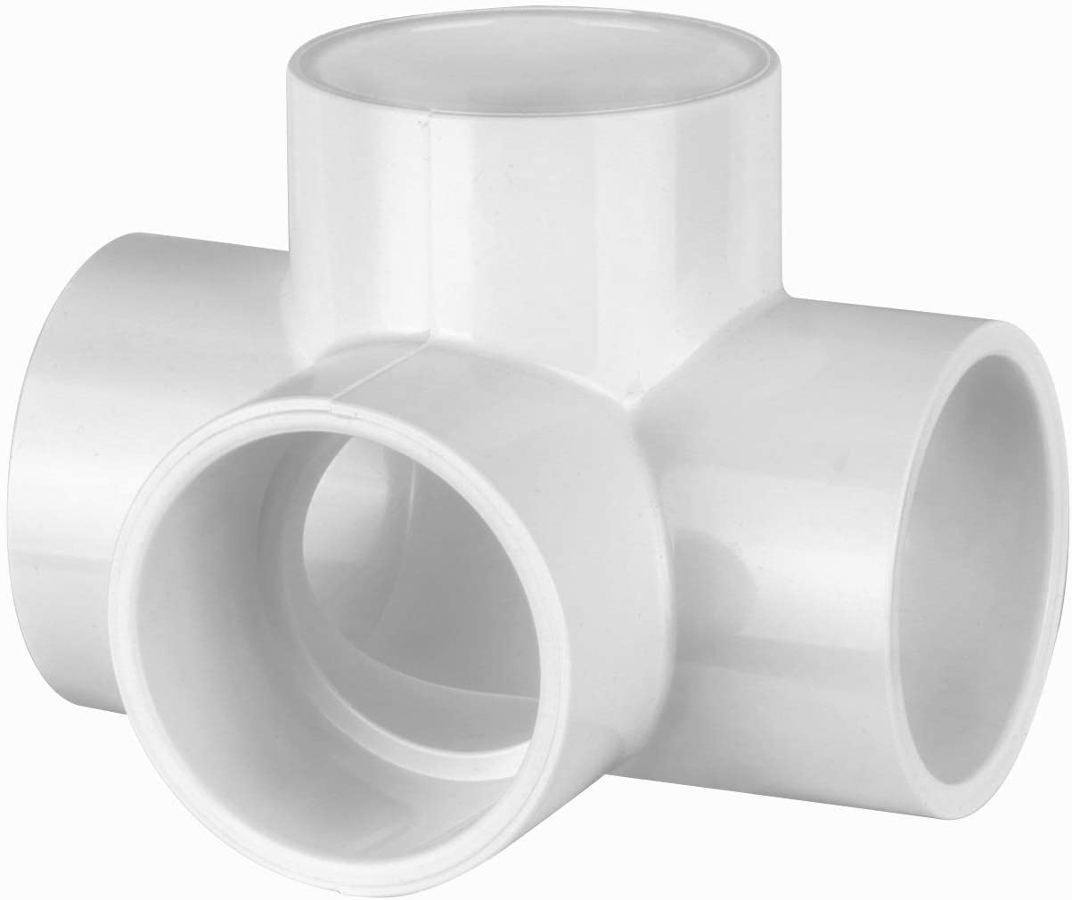 "PVC- 4 way L/T 2"" (Furniture Grade White)"