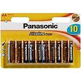 Panasonic 2379 Alkaline Power Batterie LR06 AA Mignon - 10 piles