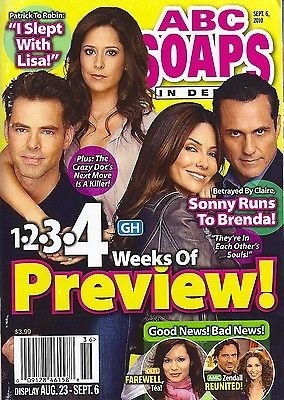 Vanessa Marcil & Maurice Benard l Kimberly McCullough & Jason Thompson (General Hospital) - September 6, 2010 ABC Soaps In Depth