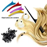 Duufin Hair Extensions Tools Kit 1500 Pcs Micro