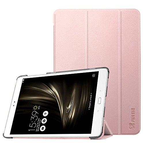 Fintie ASUS ZenPad 3S 10 Z500M Case (NOT FIT Model# Z500KL) - [SlimShell] Ultra Lightweight Stand Cover with Auto Sleep/Wake for ASUS ZenPad 3S 10 (Z500M ONLY) 9.7 Tablet, Rose Gold
