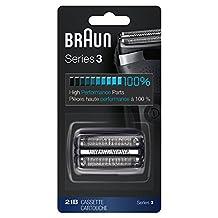 Braun 21B Shaver Replacement Part, Black