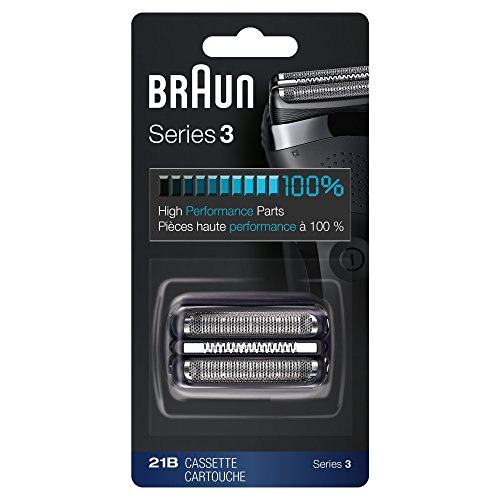 (Braun 21B Shaver Replacement Part, Black, Compatible with Models 300s and 310s)
