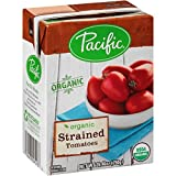 Pacific Foods Organic Strained Tomatoes, 26.46 Ounce (Pack of 12)