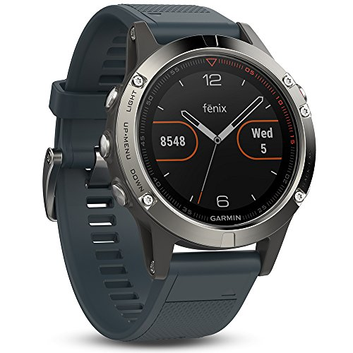 Tracking Devices For Cars Best Buy >> Garmin Fenix 5 – Silver with Granite Blue Band Review