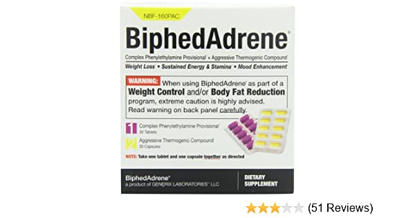 Together Energy Reviews >> Amazon Com Biphedadrene 60 Ct Health Personal Care