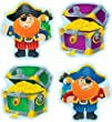 Carson Dellosa Pirates and Treasure Chests Cut-Outs (120086)