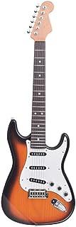 DRAULIC Guitare électrique Jouets Jouables Enfant Simulation Musique 6 cordes débutant Instrument de musique
