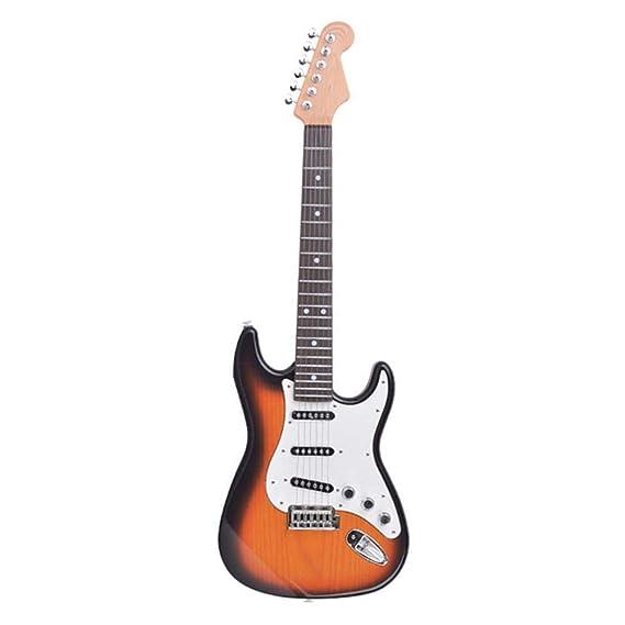 Guitarra eléctrica para el día de los niños, función de reproducción manual, 8 canciones incorporadas, modo de reproducción de MP3, descarga de música, ...