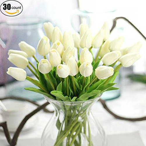 Real touch Artificial Tulip Flowers Wedding product image