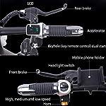 YANGMAN-L-Bici-elettrica-12inch-E-Bike-48V-25Ah-Bicicletta-Pieghevole-velocit-Massima-35-kmh-per-Pendolari-CittNero