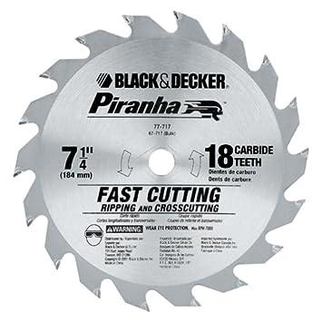 Black decker 77 717 piranha 7 14 inch 18 tooth atb thin kerf black decker 77 717 piranha 7 14 inch 18 tooth greentooth Choice Image