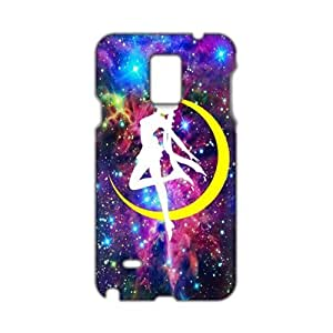 Yellow moon dancing girl 3D Phone For Ipod Touch 5 Case Cover