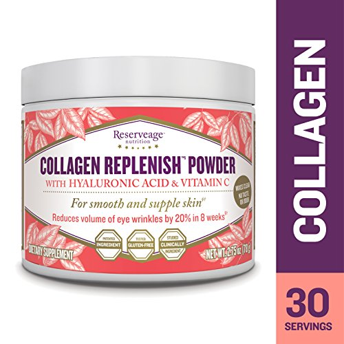 Reserveage Nutrition - Collagen Replenish Powder, Defense Against Collagen Deterioration, 30 Servings (2.75 oz)