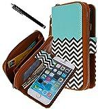 iPhone 6 Case, iPhone 6 Flip Case - E LV Deluxe PU