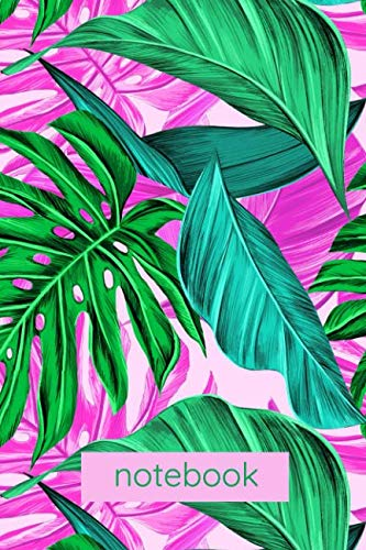 Notebook: Tropical Plants Native Ferns Notebook Journal 6x9 120 Page Blanks lined ()