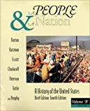A People and a Nation : A History of the United States, Brief Edition: Since 1865, Norton, Mary B. and Katzman, David M., 0395745705