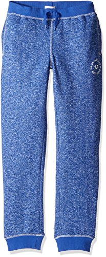 True Religion Boys' Big French Terry Sweatpant, Marled Royal Blue, M (True Religion Boys Jeans)