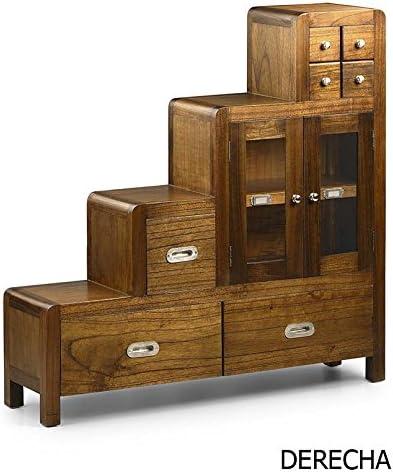MOYCOR Muebles Escalera Estilo Colonial : Colección Flash de 98x98x25cms.: Amazon.es: Hogar