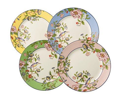 "Aynsley Pembroke Color Plates 8"" (Set of 4)"