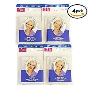 Conair Hair Nets Grey 1 Dozen Hair Nets