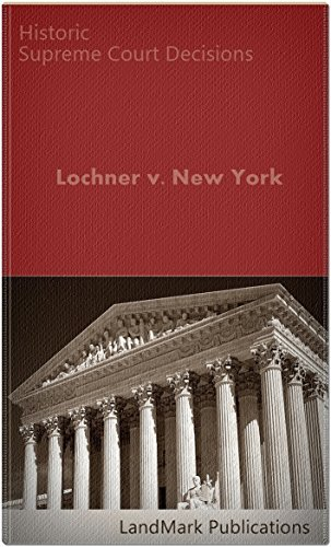Lochner v. New York 198 U.S. 45 (1905) (50 Most Cited Cases)