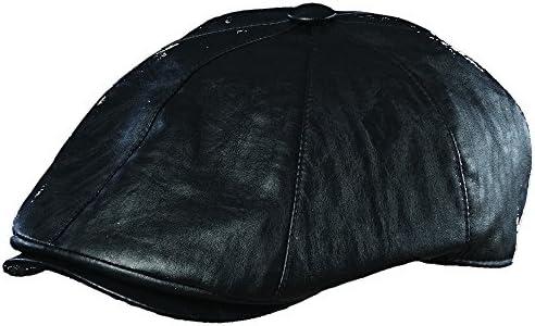 Dorfman Pacific Faux Leather IVY CAP