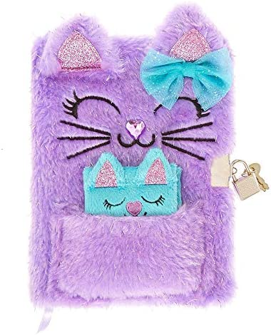 Claires Girls Glitter Purple Plush product image