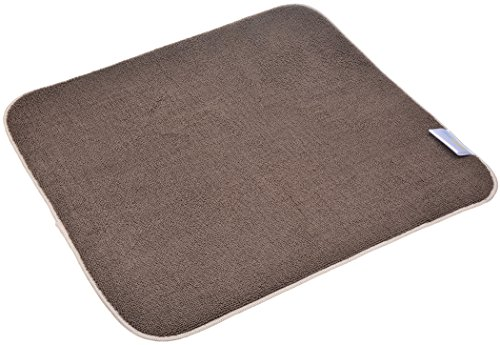 - SINLAND Microfiber Dish Drying Mat Super Absorbent Dish Drying Rack Pads Kitchen Counter Mat 16Inch X 18Inch Brown