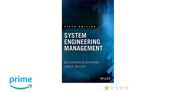 System engineering management wiley series in systems engineering system engineering management wiley series in systems engineering and management benjamin s blanchard john e blyler 9781119047827 amazon books fandeluxe Images