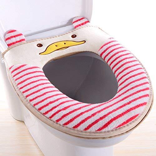Toilet Cushion Toilet Cushion Cute Animal Bathmats Toilet Mat Three Piece Bathroom Mat,T