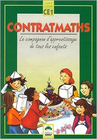 Ipod et télécharger des livres Contratmaths, CE1. Le cahier de l'élève by Raymonde Rouch,Isabelle Tauzin MOBI 2841171361