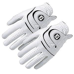 New FootJoy WeatherSof Mens Golf Gloves (2 Pack) (Medium, Worn on Left Hand)
