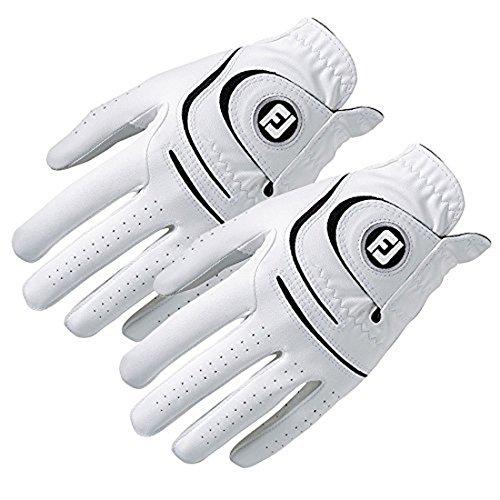 New Improved FootJoy WeatherSof Mens Golf Gloves (2 Pack) - World #1 Golf Glove