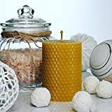 Beeswax Candle Set of 3 Handmade Candles Best for