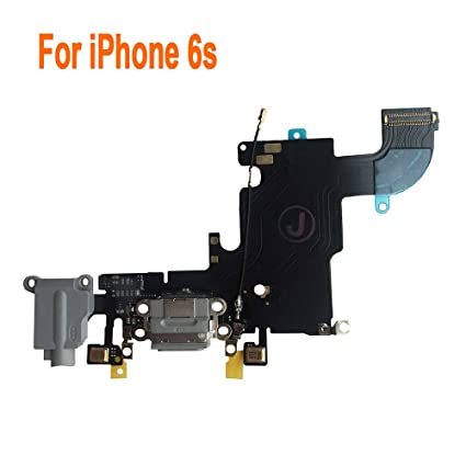 f810ffc8d810f Johncase Charging Port Dock Connector Flex Cable w/Microphone + Headphone  Audio Jack Port Ribbon Replacement Part Compatible iPhone 6s 4.7
