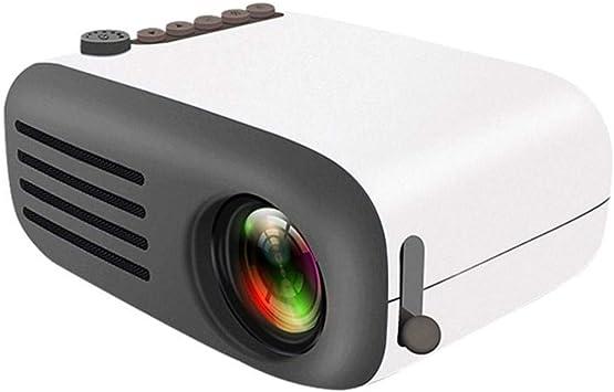 WHLDCD Proyector Mini proyector LED portátil Alta definición AV ...