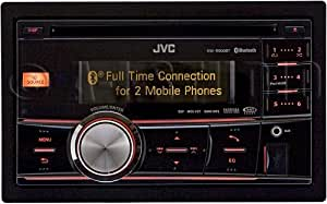 jvc kw r900bt in dash am fm cd car stereo. Black Bedroom Furniture Sets. Home Design Ideas