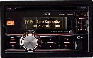 jvc kw r900bt in dash am fm cd car stereo. Black Bedroom Furniture Sets. Home Design Ideas