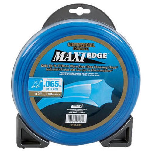 Arnold .065-Inch Maxi-Edge Commercial Trimmer Line (Best 065 Trimmer Line)