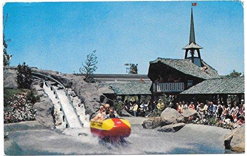 Disneyland Postcard Bobsled and Matterhorn Mountain~102708