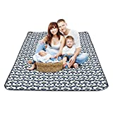 SMSJ-YJ Outdoor Picnic Mats Padded Waterproof Portable Spring Cushions Suitable for Family Summer Travel