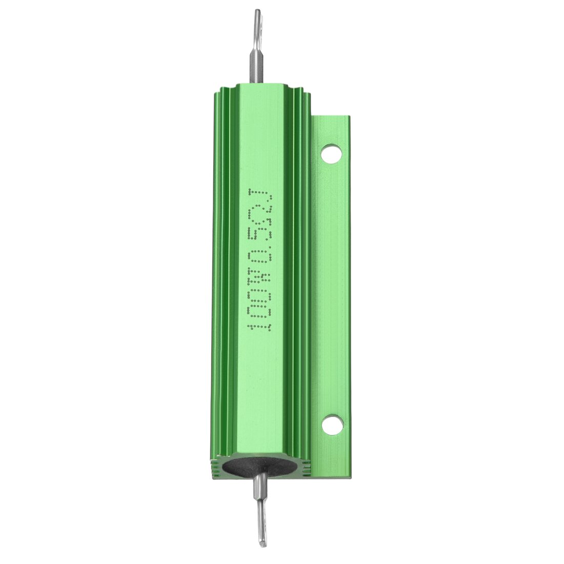 Sourcingmap 2 St/ück Aluminiumgeh/äuse Widerstand 100 W 10 Ohm Drahtgewickelt Gelb f/ür LED Ersatz Konverter 100 W 10 RJ