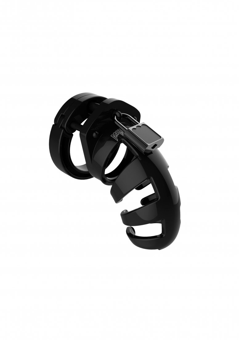 ManCage 02 Chastity Cage - Black by Man Cage