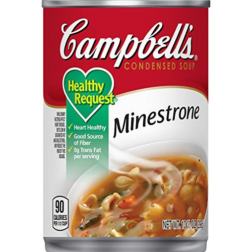 Campbell's Condensed Healthy Request Minestrone Soup, 10.5 oz. Can (Pack of 12)