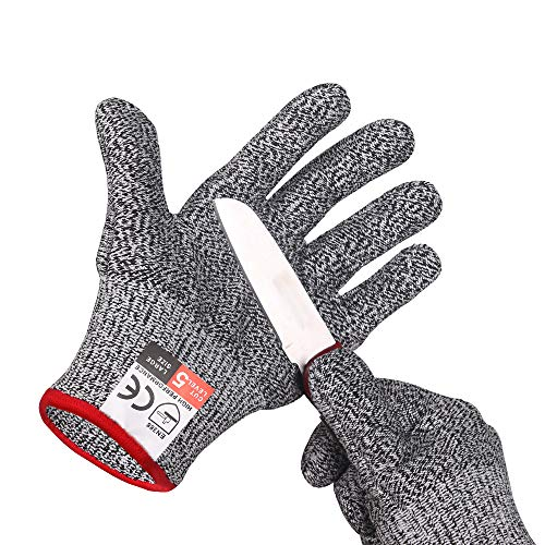 Cut Resistant Gloves, High Performance Level 5 ProtectionSafety Kitchen Gloves(large)