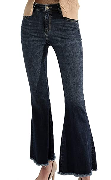 Amazon.com: susielady para hombre Jean Denim pantalones ...