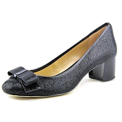 50553f9b521 hot sale Michael Michael Kors Kiera Mid Pump Women US 9 Black Heels ...